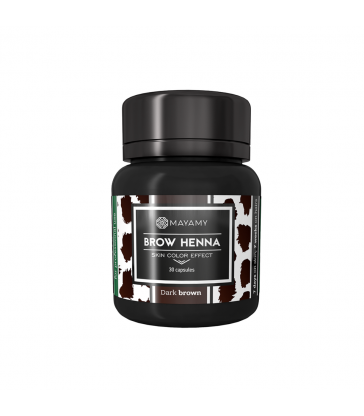 MAYAMY profesjonalna henna Skin color effect Dark Brown