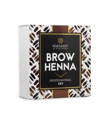 MAYAMY Brow Henna - Zestaw w Kosmetyczce