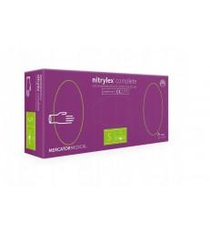 Rękawice Nitrylex® PF Collagen - róż