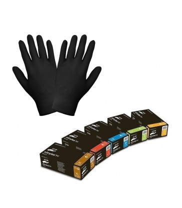 Rękawice NITRYLEX PF - czarne