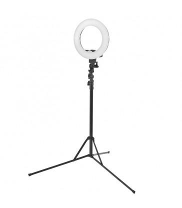 LAMPA PIERŚCIENIOWA RING LIGHT 30CM 35W LED + STATYW