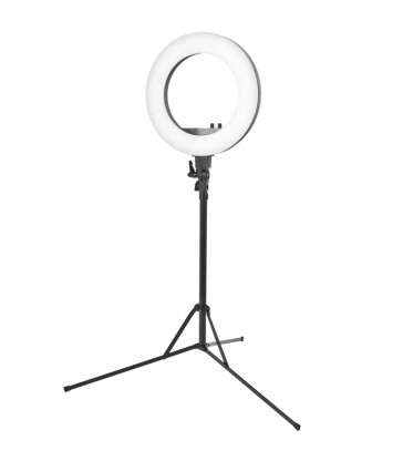 LAMPA PIERŚCIENIOWA RING LIGHT 30CM 35W LED + STATYW